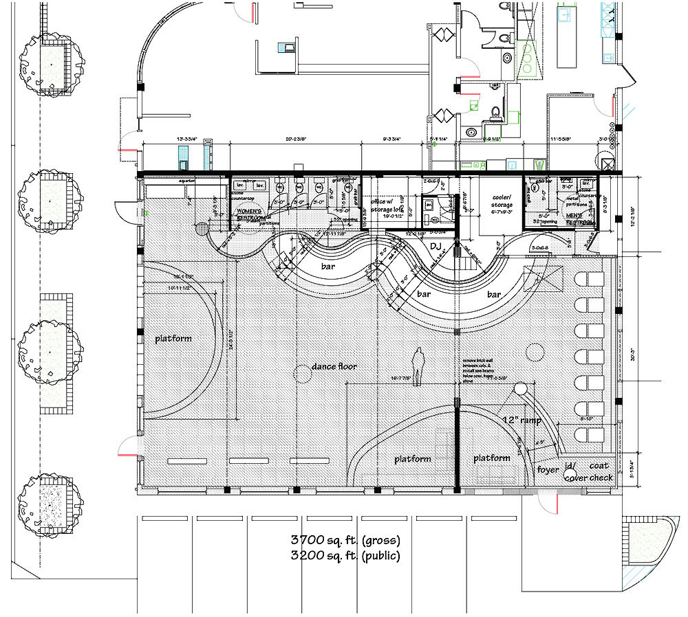 Hinrichs residence Bar floor plans designs for free